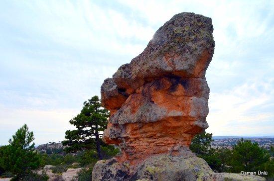 Frig Vadisi Tabiat Parki: Frig vadisi ve kayalar