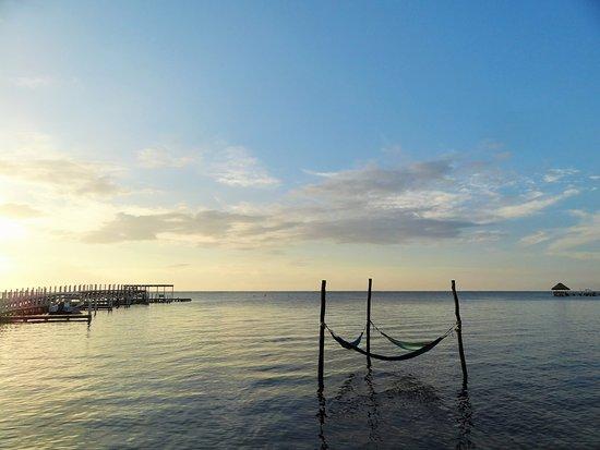 Ambergris Caye, Belize: Sunrise at Las Terrazas Resort, San Pedro