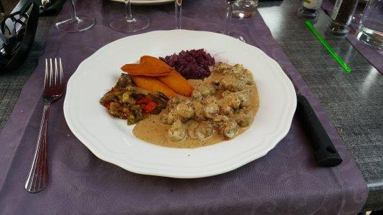 Sospel, Francia: Des rognons très bien cuisinés.