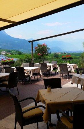 Cornaiano, İtalya: Blick in das Etschtal