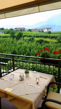Cornaiano, İtalya: Blick in die Weingärten