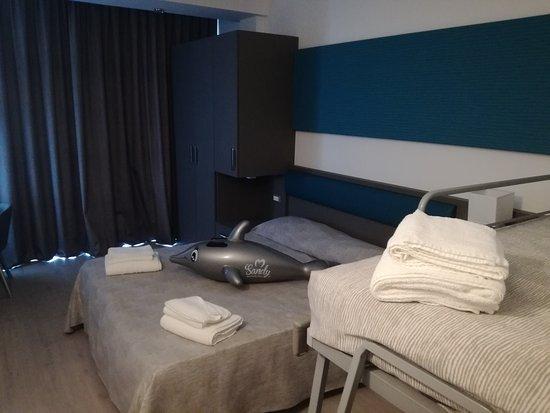 Camera matrimoniale + letto a castello - Foto di Club Family Hotel ...