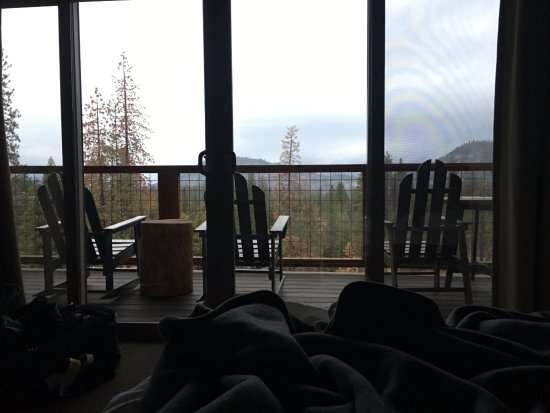 Groveland, Καλιφόρνια: talk about a great view right from your bed!