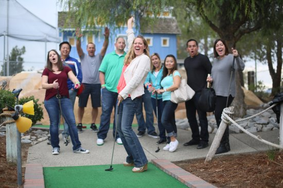 Torrance, CA: Miniature Golf