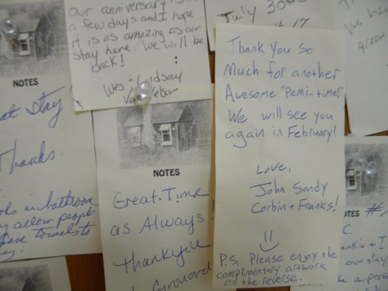Pemi Cabins : Our guests leave us such kind words...