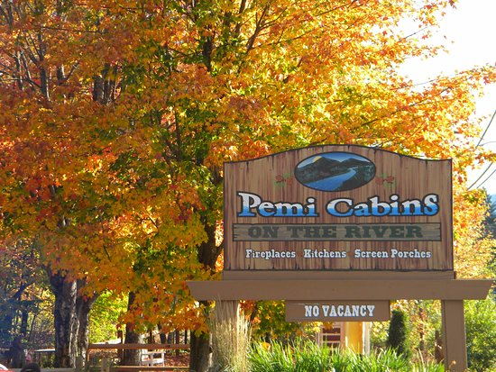 Fall at Pemi Cabins