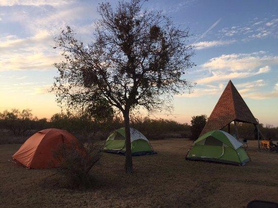 Quanah, TX: Campsite