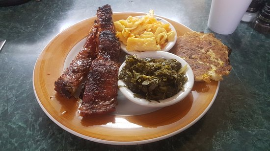 Fairburn, GA: Barbecue Dinner with two sides