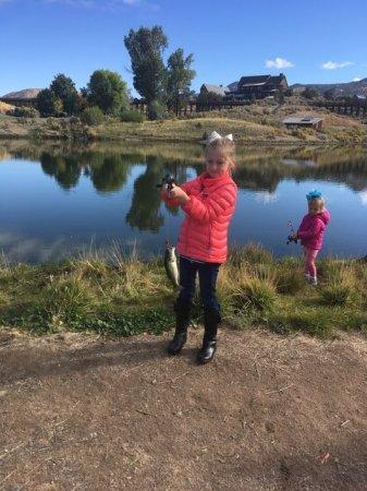 Brasada Ranch: Great fishing for kids!