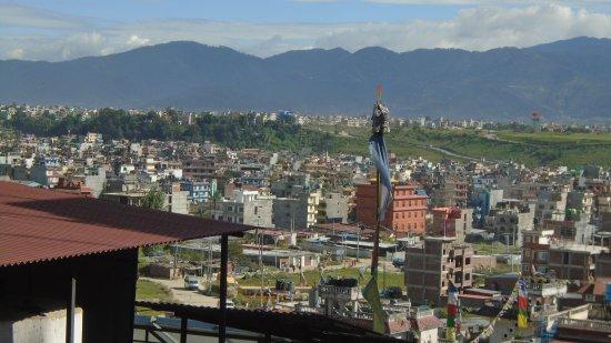 Hotel Tibet International: Norbulinka Stupa View Terrace-the view!