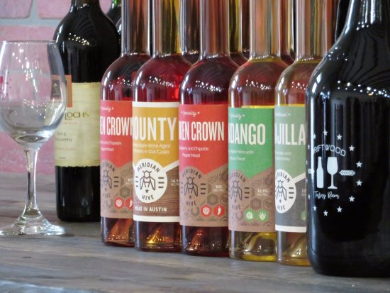 Driftwood, TX: Mead, up and coming honey wine. Come and try it for yourself.