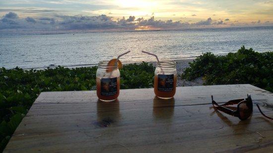 Arorangi, Cook Eilanden: Sunset