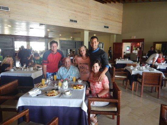 Catalonia Royal Bavaro: Railin, one of our favorite waiters at Thalassa