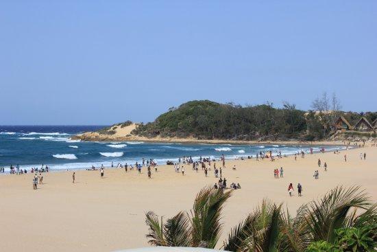 Tofo, Mozambique: Vista da praia