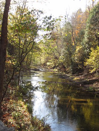 The Natural Bridge of Virginia: Stream in October