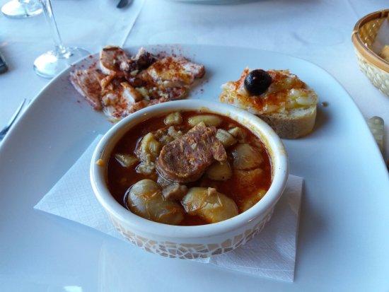 Ribadelago, Spain: menu