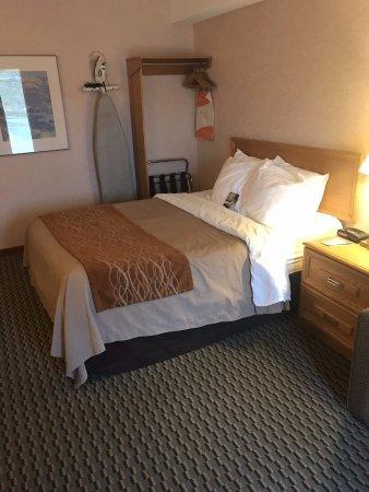 Bridgewater, Canadá: Queen Bed in 1 Queen Bed room