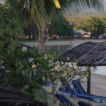Savai'i, Samoa: View from our room