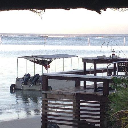 Savai'i, Samoa: One of our favourite eating spots
