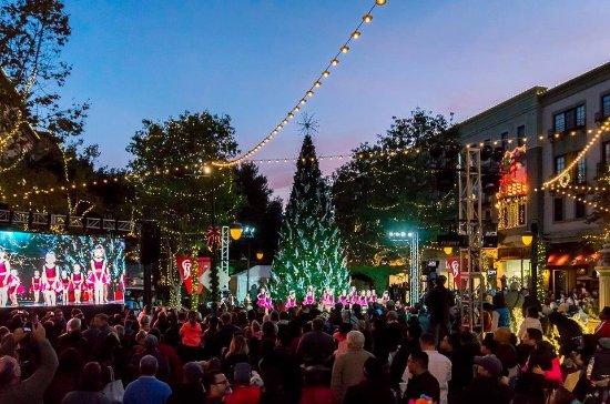 Santana Row Christmas Tree 2020 Kendra Scott   Picture of Santana Row, San Jose   Tripadvisor