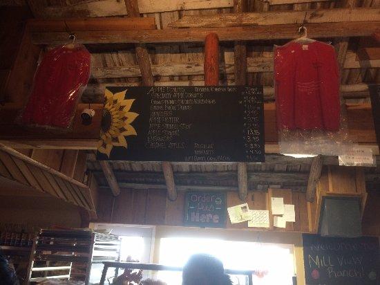 Camino, CA: menu