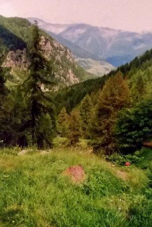 Peio, Włochy: Paesaggio in trentino alto adige