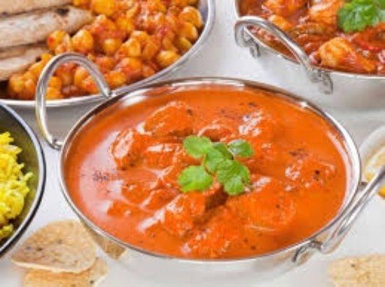Starkville, MS: chicken tikka masala, chana masala and chicken curry
