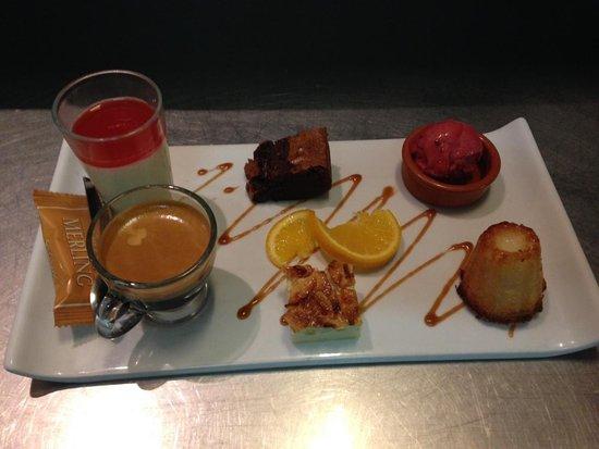 L'eau a la Bouche : Café gourmand
