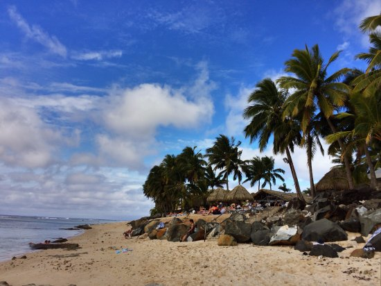 Arorangi, Cook Eilanden: The Edgewater beach