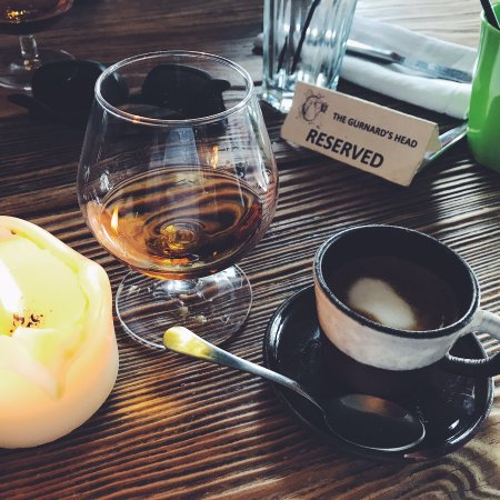Zennor, UK: Brandy / Coffee
