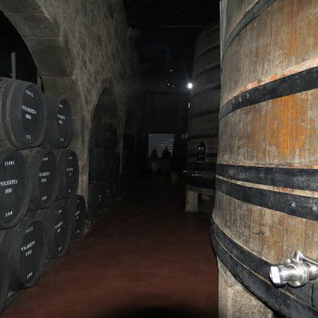 Porto Calem : Part of the cellar tour at Calem
