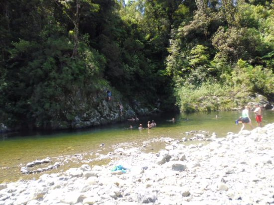 North Island, Yeni Zelanda: Our swimming spot