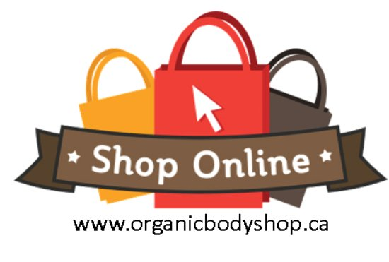 Barrie, Kanada: www.organicbodyshop.ca Shop online every day!