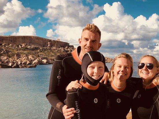 Munxar, Malta: Third dive near Dahlet Qorot