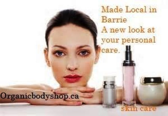 Barrie, Canada: Organic Handmade face care at www.organicbodyshop.ca