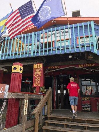 Cedar Key, Φλόριντα: Front Entrance