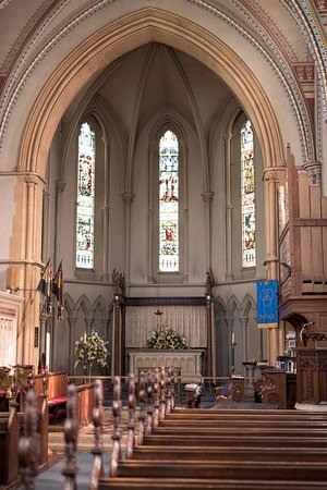 The Altar at Holy Trinity Theale