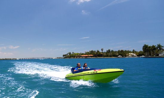 North Bay Village, FL: MIAMI SPEED BOAT ADVENTURES!!!