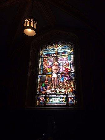 Ottawa, Canada: Vitral dentro de la basílica