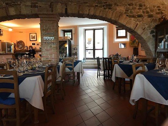 Montemerano, Ιταλία: Osteria Passaparola Nell'antico Frantoio