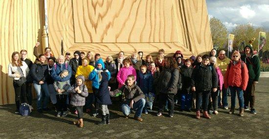 PlopsaLand De Panne: Met 40 man/vrouw op pad