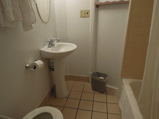 Lloyds on the River Country Inn: Basic bathroom