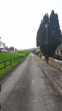 Fort Augustus, UK: a small road