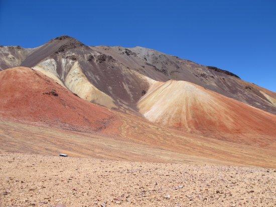 Putre, Chili: mille colori