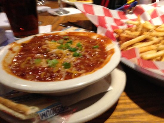 Fenton, MI: Chili w/cheese & green onion