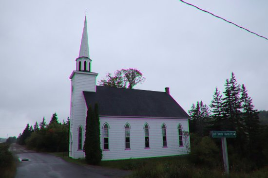 Baddeck, Canadá: A lovely churchThe entrance