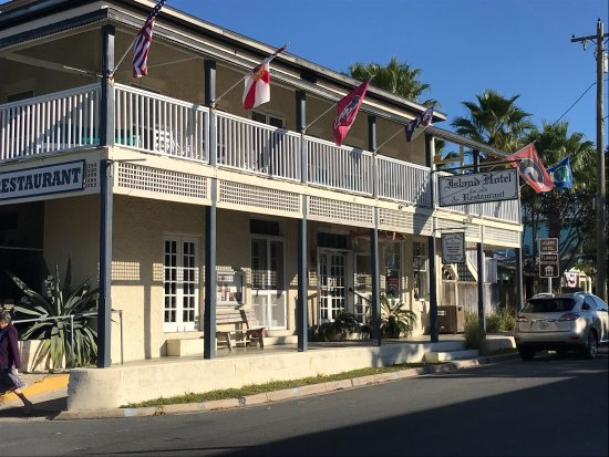 Island Hotel & Restaurant : The Island Hotel. Wonderful atmosphere fun locals