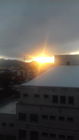Hotel Canasvieiras Internacional - Florianopolis: Pôr do Sol! Lindo!