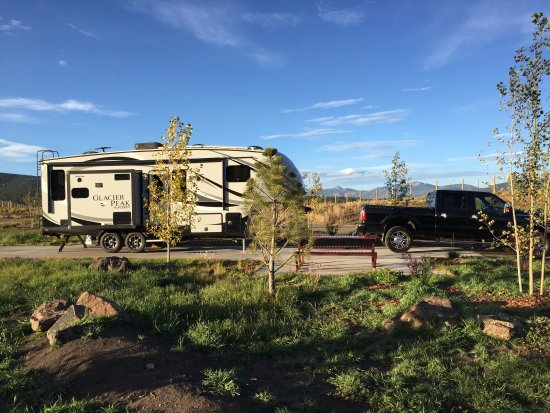 Angel Fire RV Resort: Spacious RV sites and great views