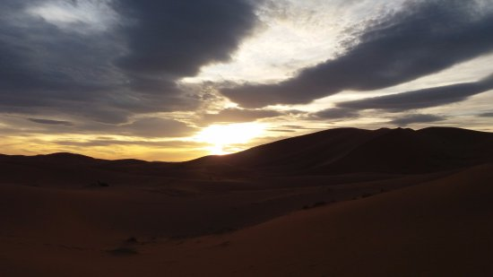 Riad Aicha: Atardecer